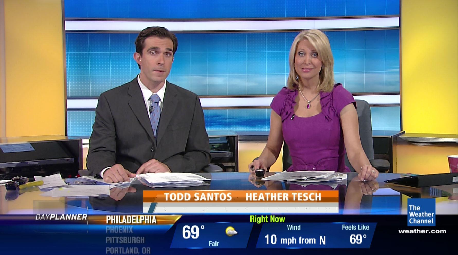 New News Channel : New lower thirds for the weather channel… inside cable news